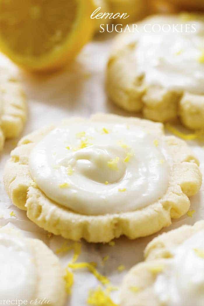 Lemon Sugar Cookies  Lemon Swig Sugar Cookies with Lemon Cream Cheese