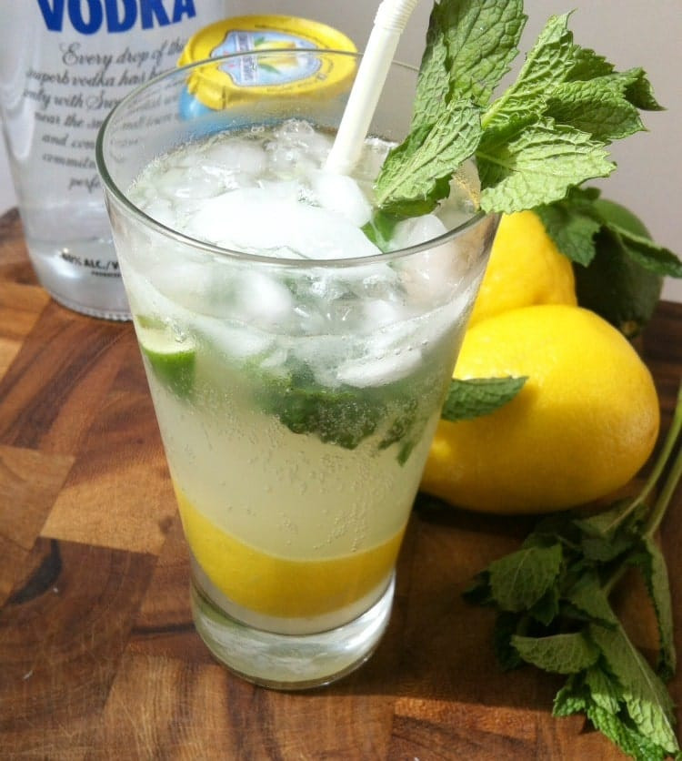 Lemon Vodka Drinks  Lemon Lime Vodka Cooler A Cedar Spoon