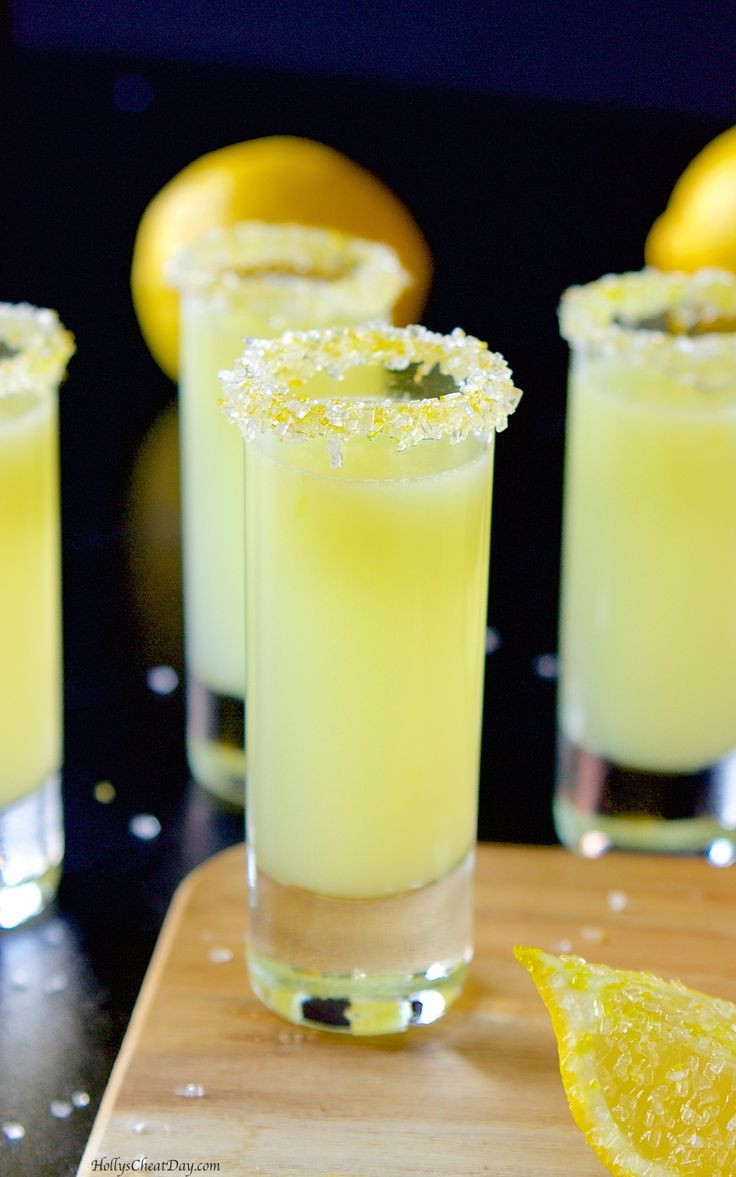 Lemon Vodka Drinks  25 best ideas about Lemon Drop Shots on Pinterest