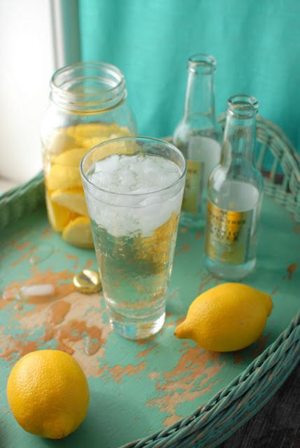 Lemon Vodka Drinks  Homemade Summer and Vodka cocktail on Pinterest