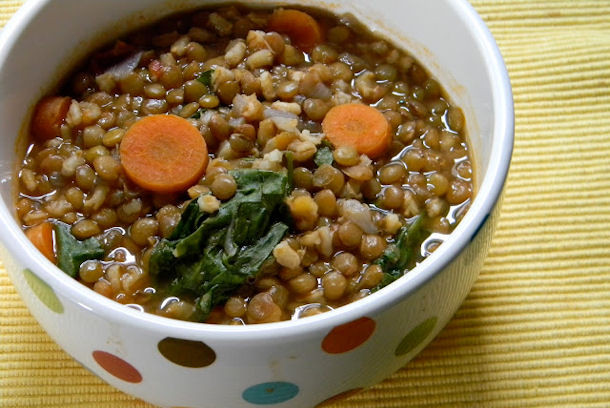 Lentil Barley Soup  Epicurus Recipes