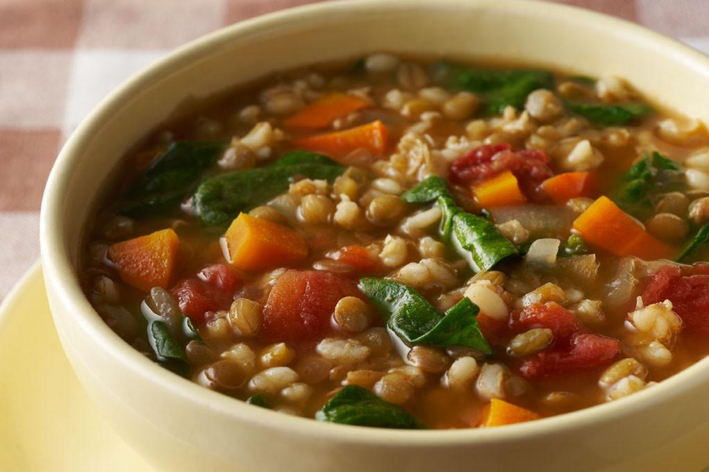 Lentil Barley Soup  Barley and Lentil Soup