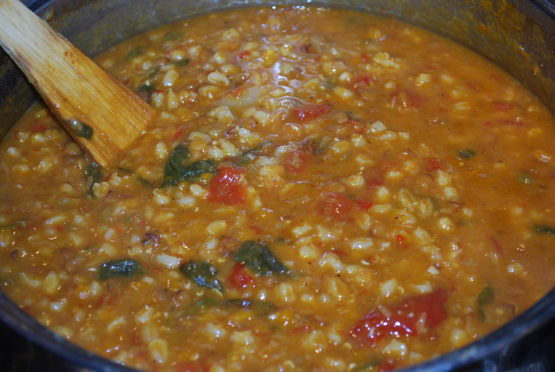Lentil Barley Soup  lentil barley soup pressure cooker