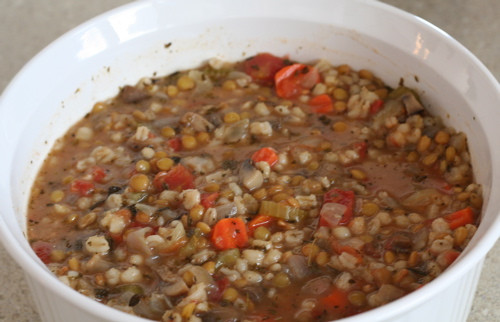 Lentil Barley Soup  Lentil Barley Soup