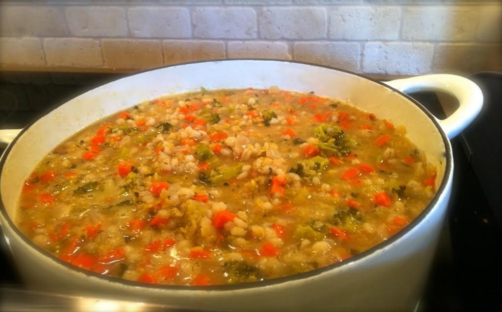 Lentil Barley Soup  Easy Barley and Lentil Stew