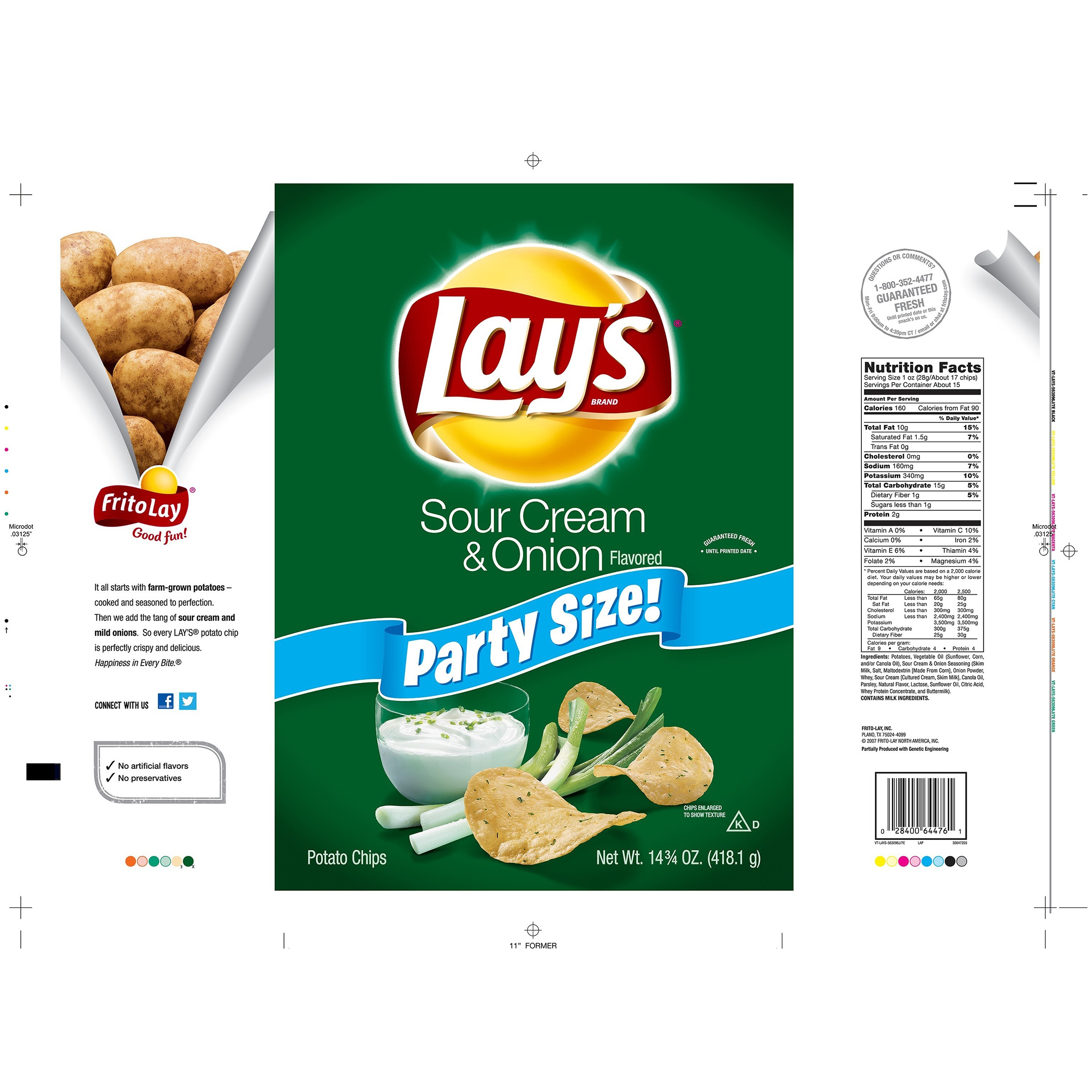 Let'S Potato Chips  how many calories in 10 potato chips