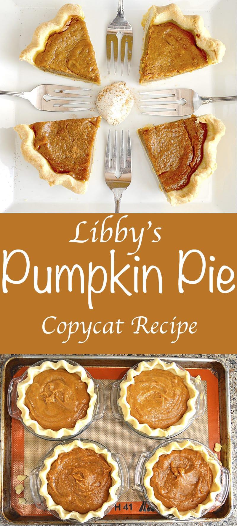 Libby Pumpkin Pie Recipe  Libby s Pumpkin Pie Copycat Recipe Vegan TheVegLife