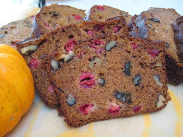 Libbys Pumpkin Bread  Libbys Pumpkin Cranberry Bread Recipe Food