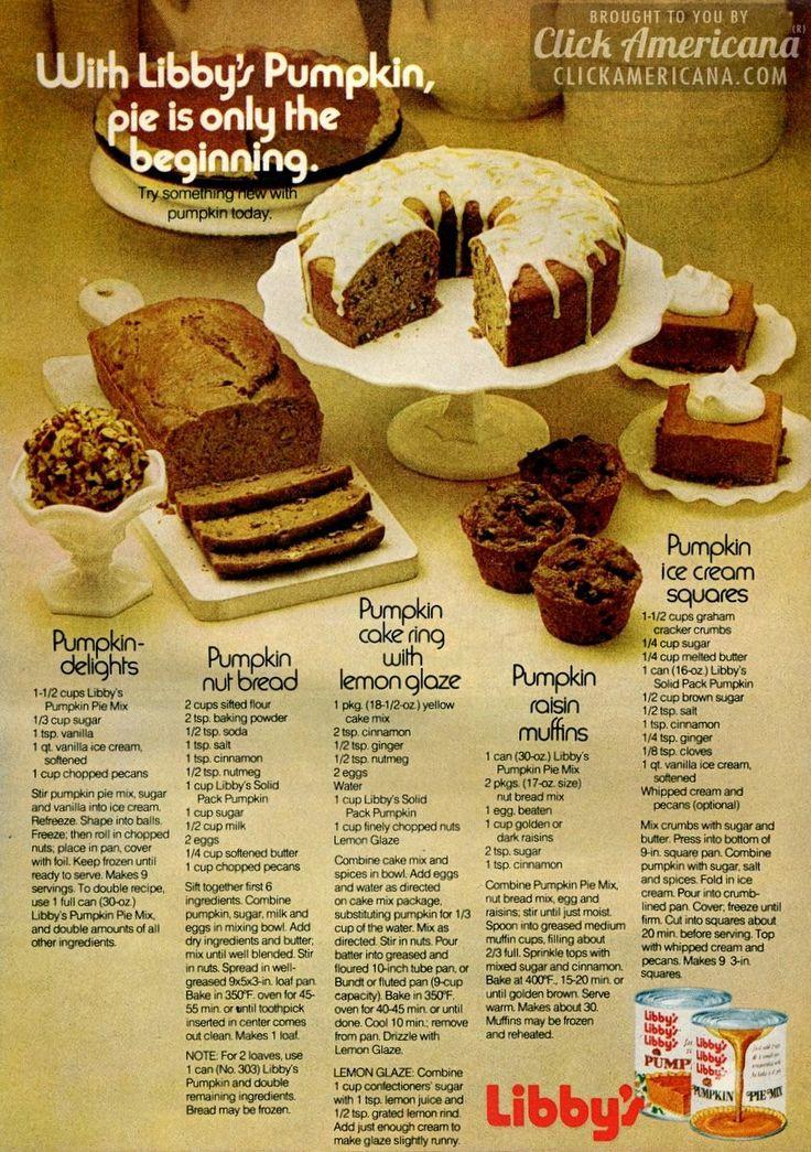 Libbys Pumpkin Pie Recipe  libby s pumpkin pie cake