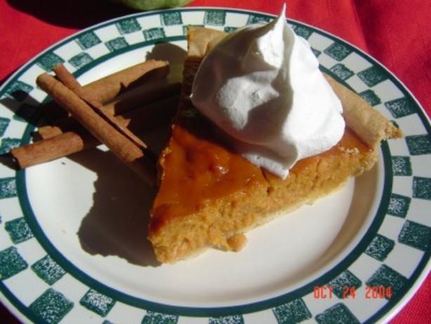 Libbys Pumpkin Pie Recipe  Libbys Famous Pumpkin Pie Recipe Food