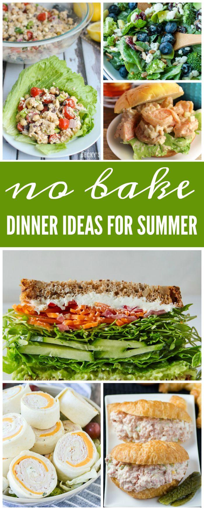 Light Dinner Ideas For Summer  Best 25 Cool summer dinners ideas on Pinterest