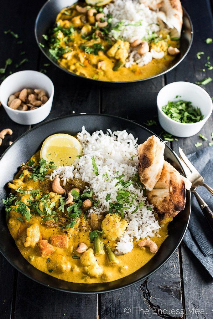 Light Dinner Recipes Vegetarian Indian  Best 25 Korma ideas on Pinterest