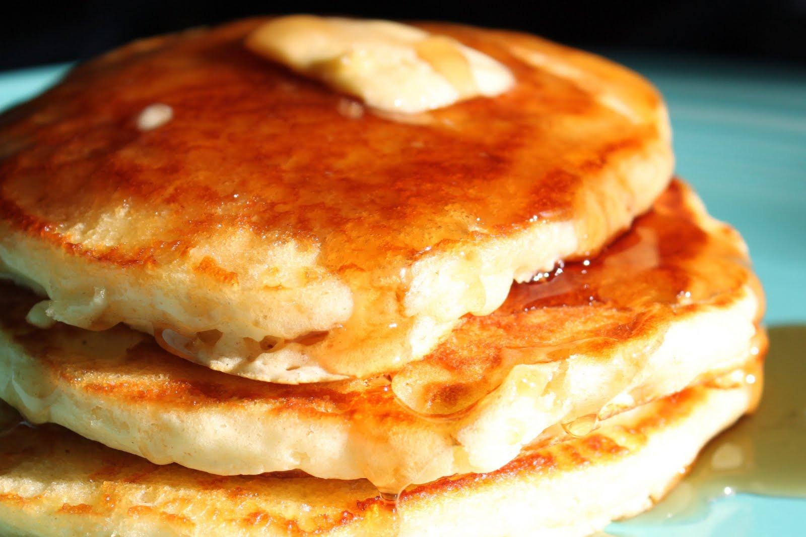 Light Fluffy Pancakes  Maple Leaves & Sycamore Trees Light n Fluffy Pancakes