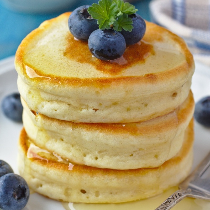 Light Fluffy Pancakes  This classic buttermilk pancakes recipe makes light fluffy