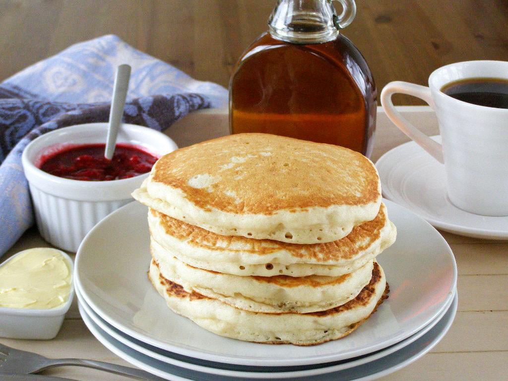 Light Fluffy Pancakes  maple•spice Back to Basics Pancakes and Waffles
