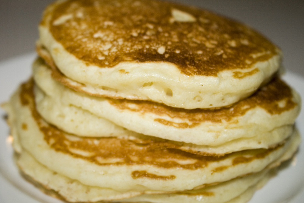 Light Fluffy Pancakes  America's Test & Piggy's Parlor Buttermilk Pancakes