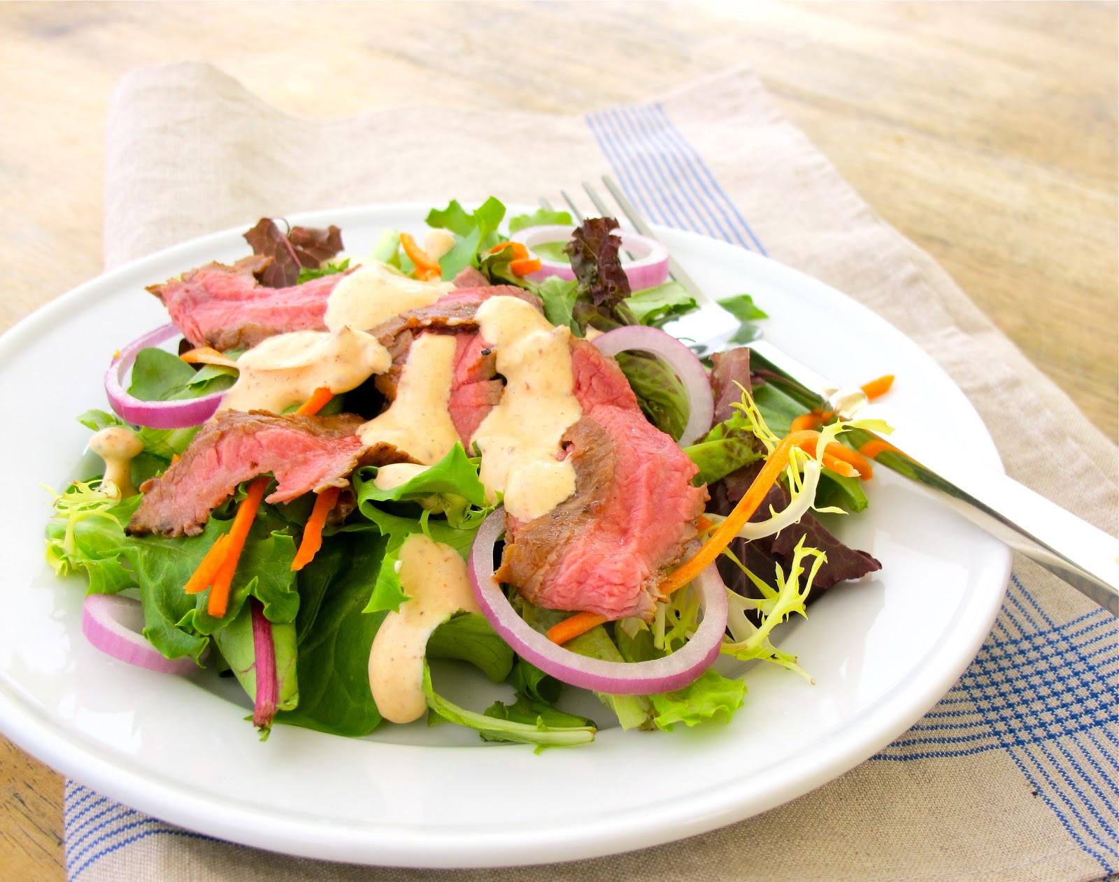 Light Summer Dinners  Jenny Steffens Hobick Chipotle Grilled Steak Salad