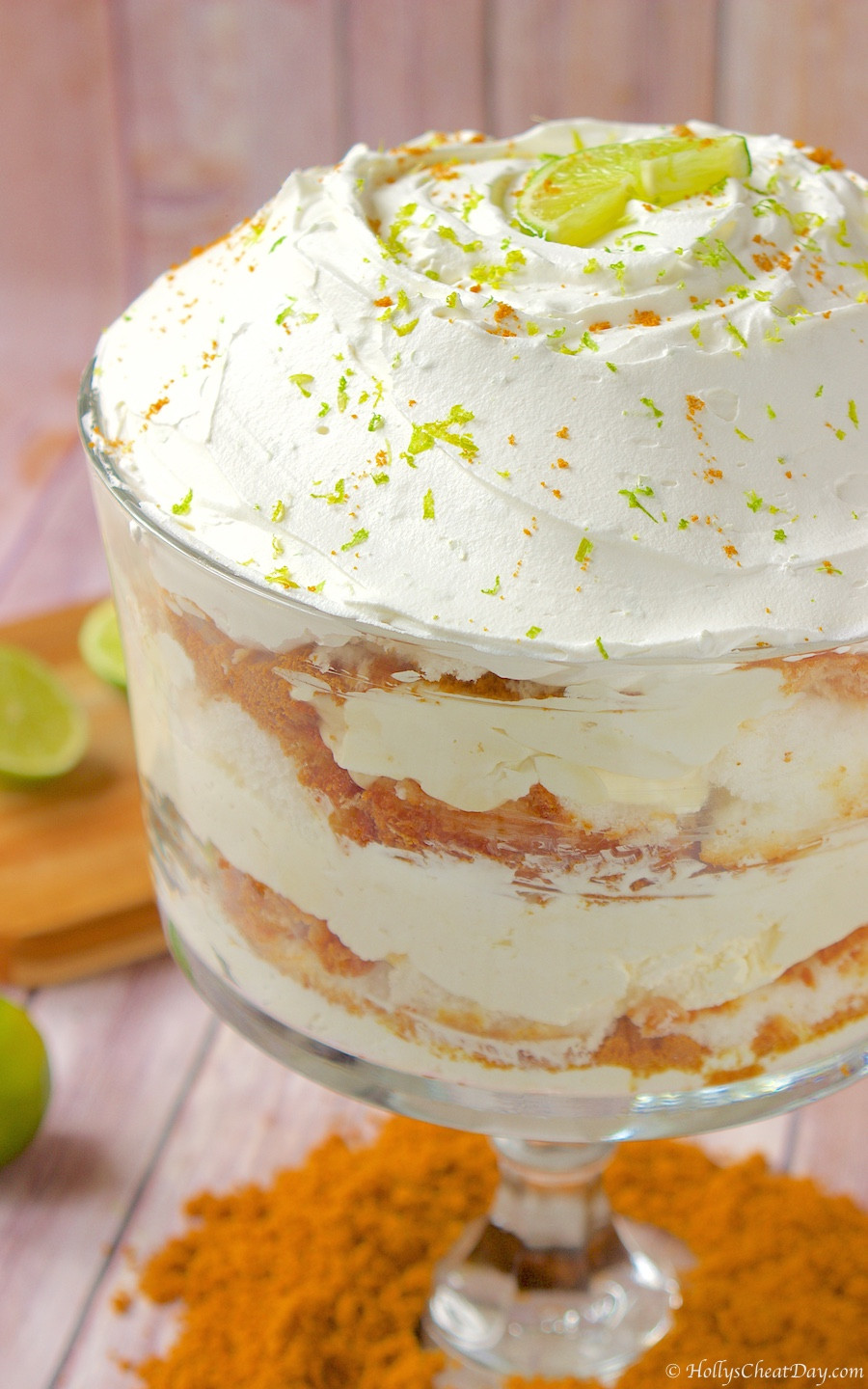 Lime Dessert Recipes  Key Lime Trifle HOLLY S CHEAT DAY