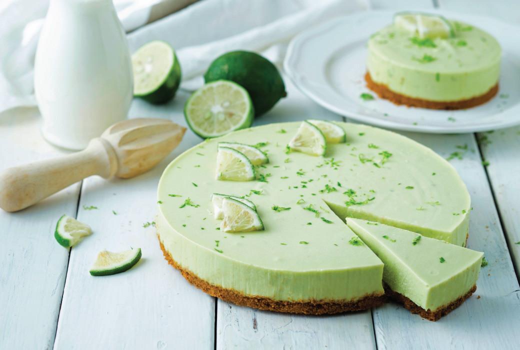 Lime Dessert Recipes  No Bake Avocado Lime Cheesecake Chef Sheilla
