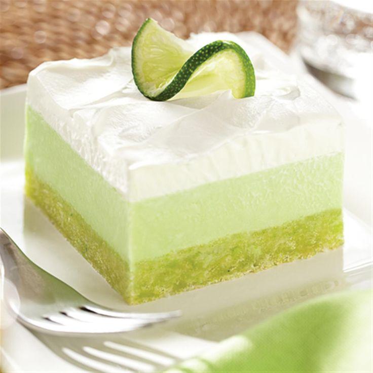 Lime Dessert Recipes  Lemon Lime Cooler Dessert