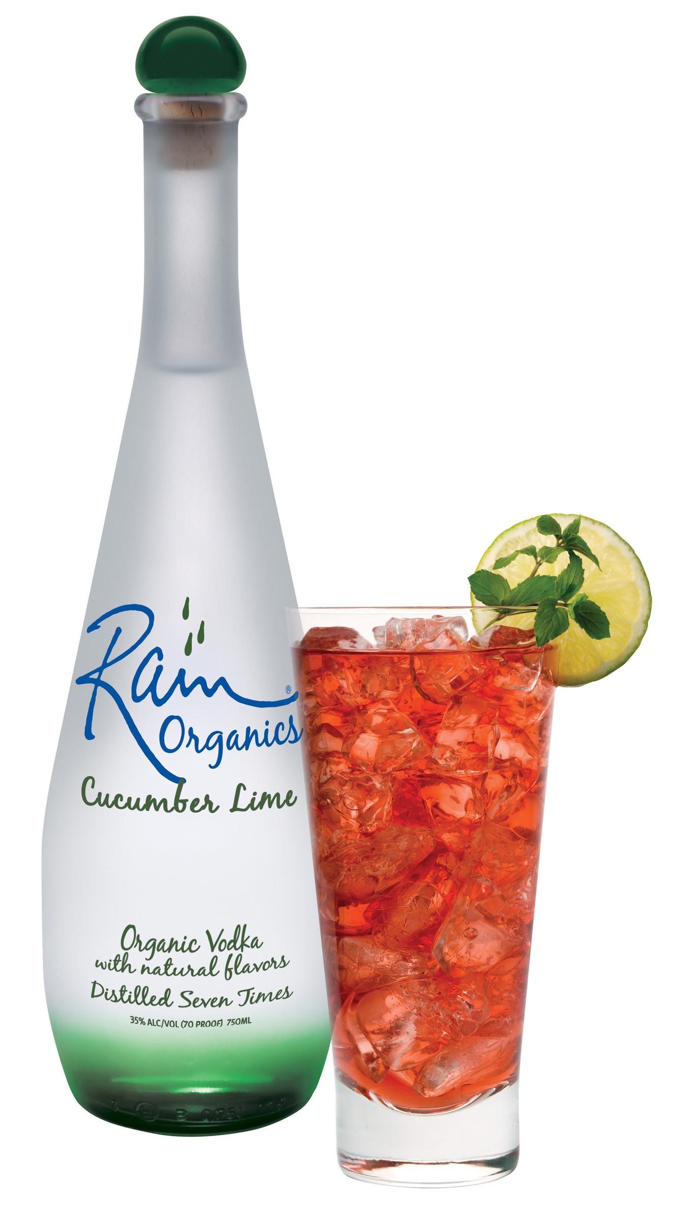 Lime Vodka Drinks  Rain Organics Cucumber Lime Vodka Cocktails