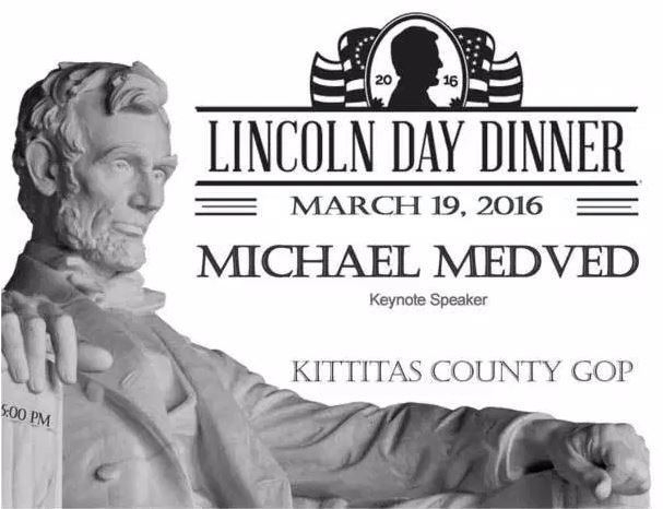 Lincoln Day Dinner  Kittitas County Republican Party Lincoln Day Dinner The