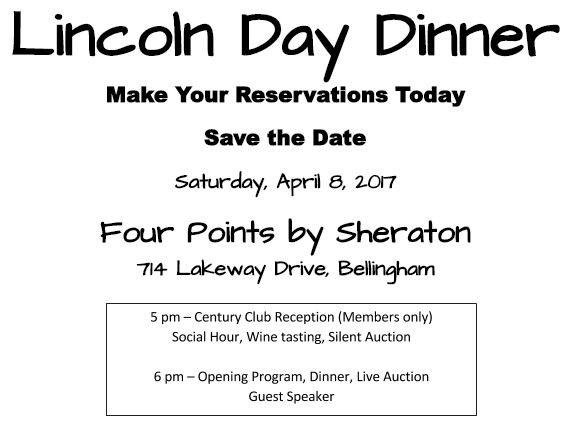 Lincoln Day Dinner  What County Republican Party