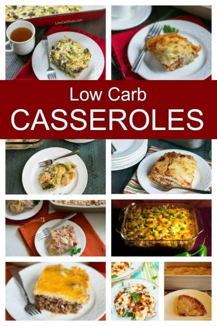 Linda'S Low Carb Recipes  15 The Best Low Carb Casseroles