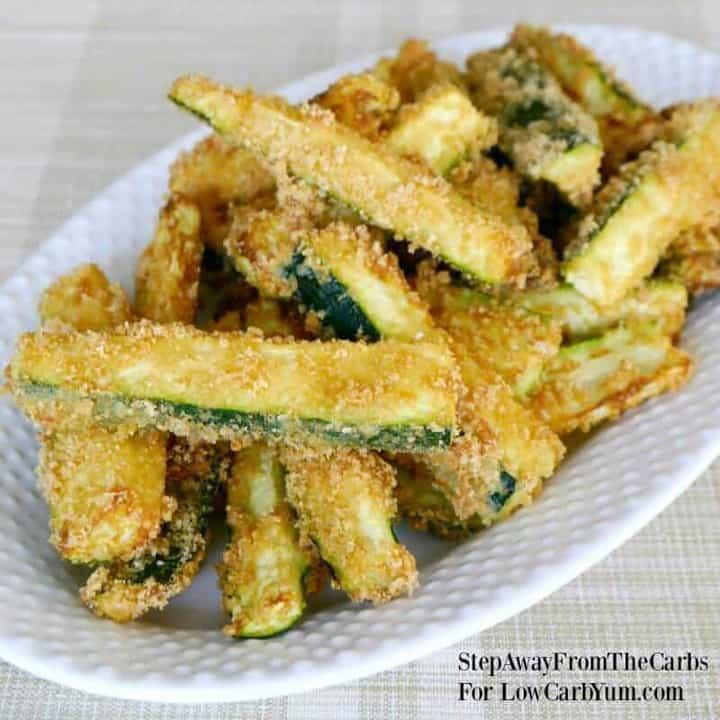 Linda'S Low Carb Recipes  Low Carb Zucchini Fries Recipe Gluten Free