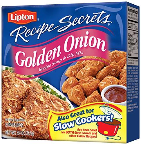 Lipton Onion Soup Mix  Lipton Recipe Secrets Recipe Soup & Dip Mix Golden ion
