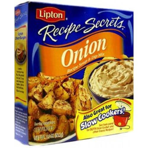Lipton Onion Soup Mix  Lipton Recipe Secrets ion Soup and Dip Mix 56 7g