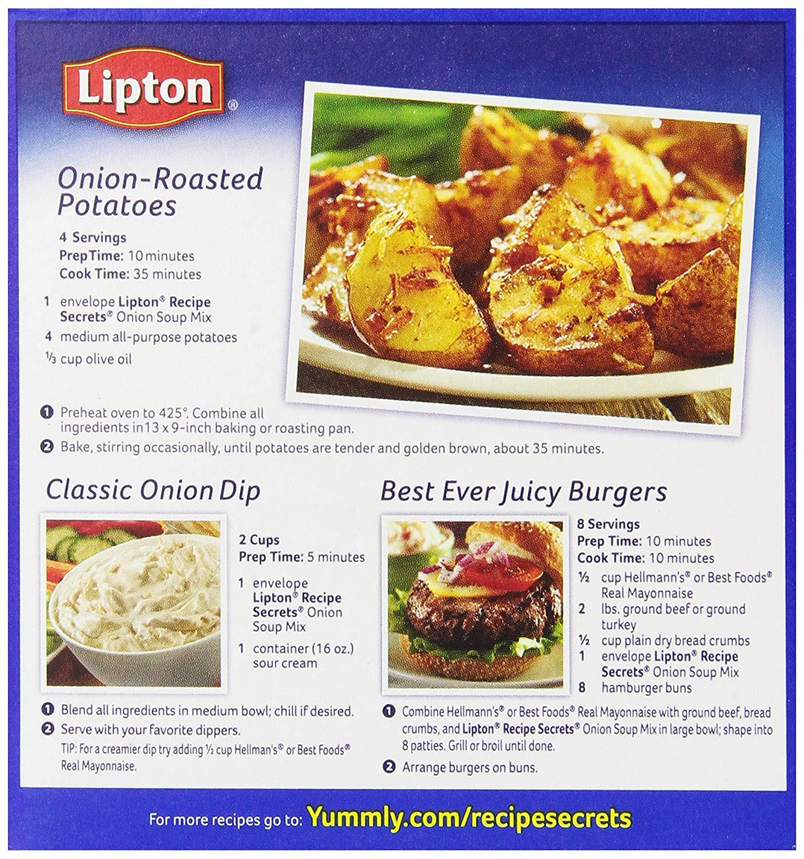 Lipton Onion Soup Mix Recipe  lipton onion soup mix potatoes