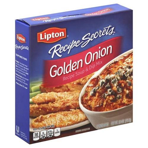 Lipton Onion Soup Mix Recipe  Lipton Recipe Secrets Golden ion Soup & Dip Mix 2 ct box