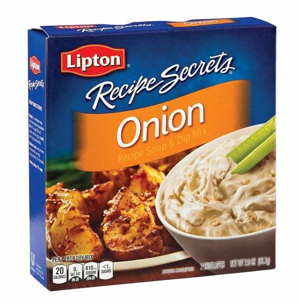Lipton Onion Soup Mix Recipe  Lipton Recipe Secrets ion Recipe Soup & Dip Mix 2Ct