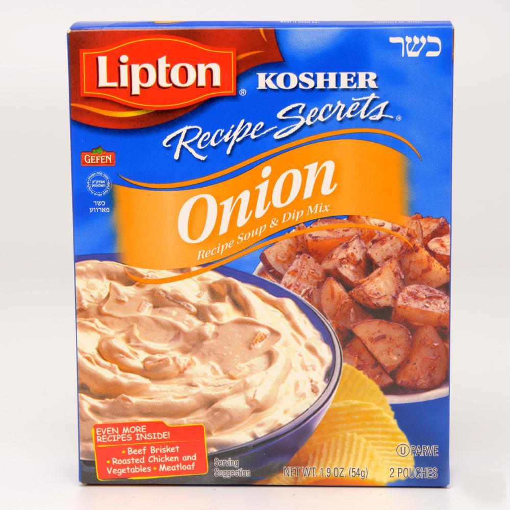 Lipton Onion Soup Mix  Amazon Lipton Recipe Secrets ion Soup & Dip Mix 1