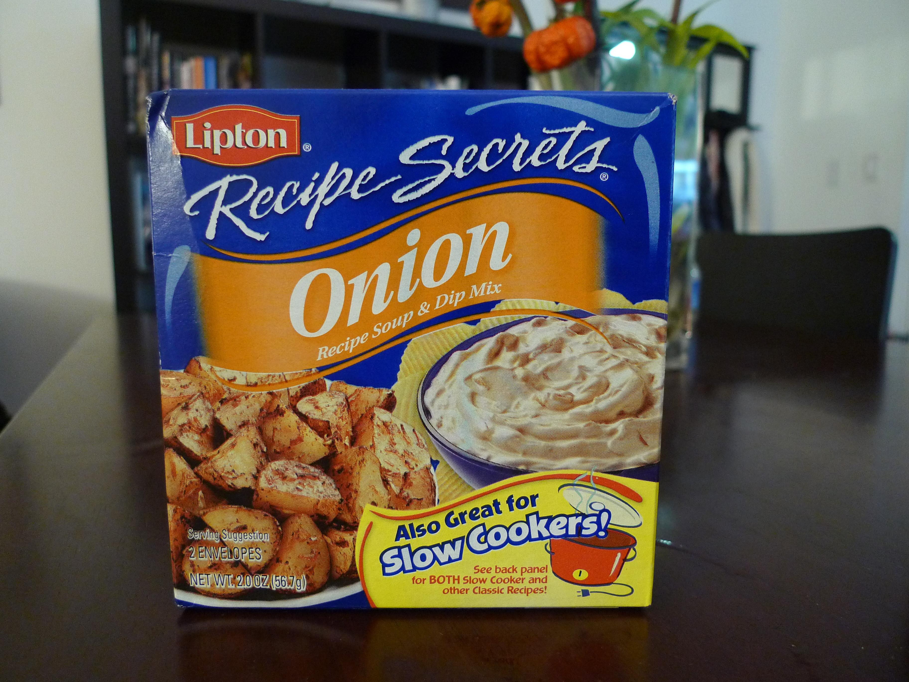 Lipton Onion Soup Mix  lipton onion soup recipes