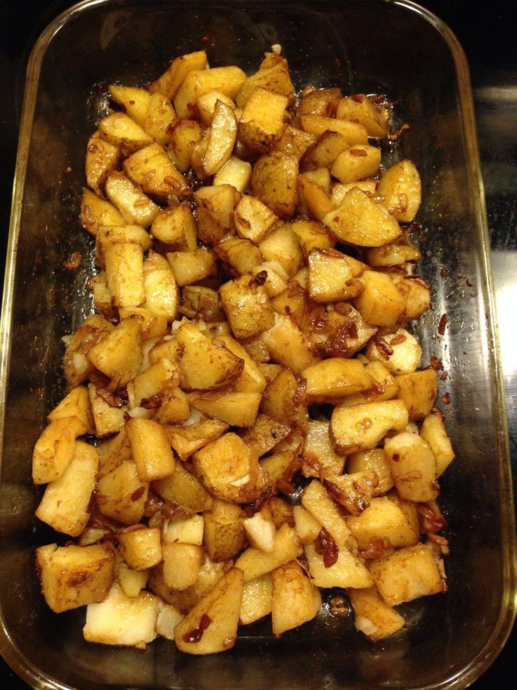 Lipton Onion Soup Potatoes  Oven roasted lipton onion potatoes Diced potatoes 1 3 cup