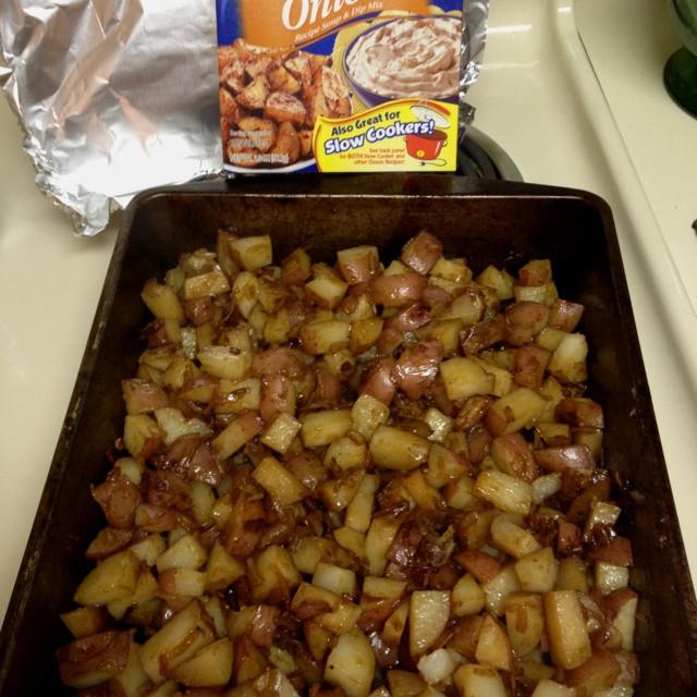 Lipton Onion Soup Potatoes  Homemade Lipton ion Soup Mix Potatoes – Homemade Ftempo