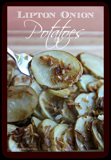 Lipton Onion Soup Potatoes  Lipton ion Potatoes