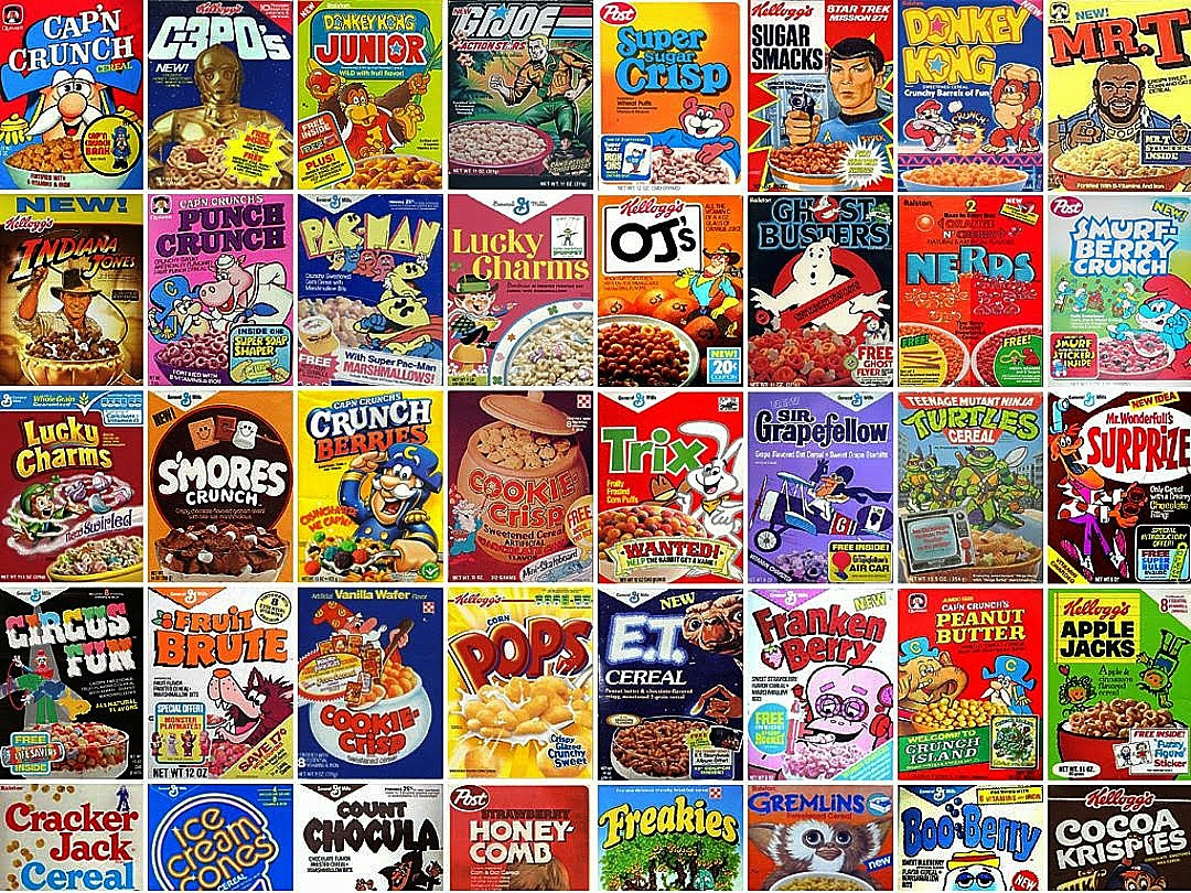 List Of Breakfast Cereals  Crazy Cows and Quangaroos Our favorite 60s and 70s era