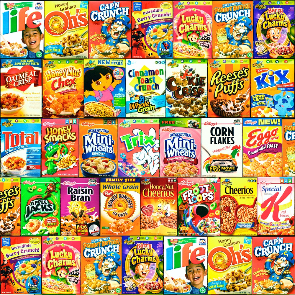 List Of Breakfast Cereals  [Part 3] The Full Cereal Fatness Index 275 Cereals