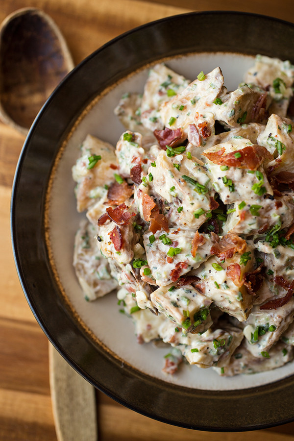 "Loaded Baked Potato Salad  ""Loaded Baked Potato"" Salad"