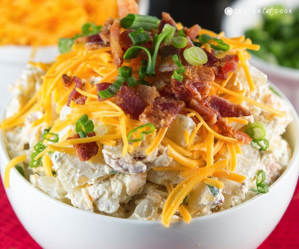 Loaded Baked Potato Salad  Loaded Baked Potato Salad Recipe