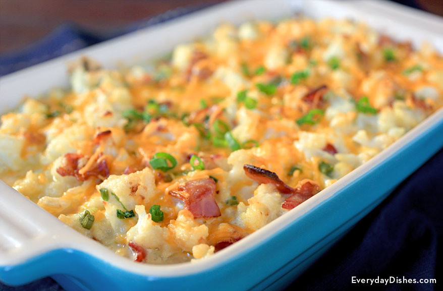 Loaded Cauliflower Casserole  Loaded Cauliflower Casserole Recipe