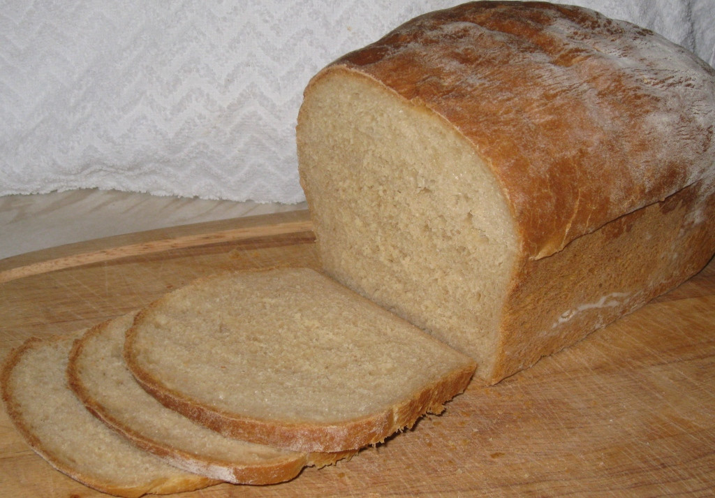Loaf Bread Recipe  Soft White Loaf Homemade Bread