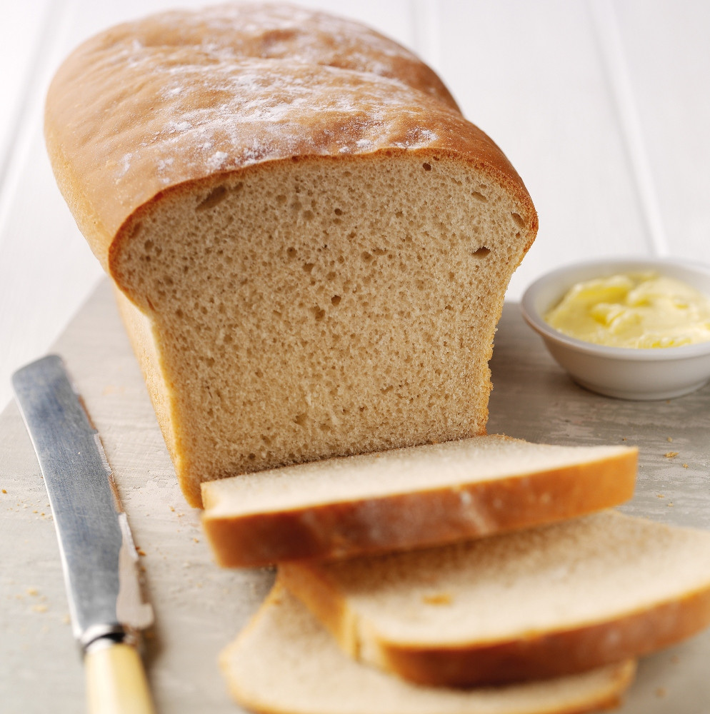 Loaf Bread Recipe  Hand baked classic white bread