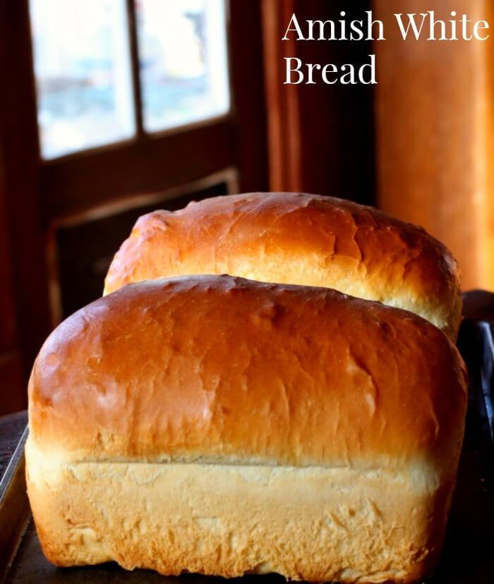 Loaf Bread Recipe  Amish White Bread Fluffy Old Fashioned Loaf