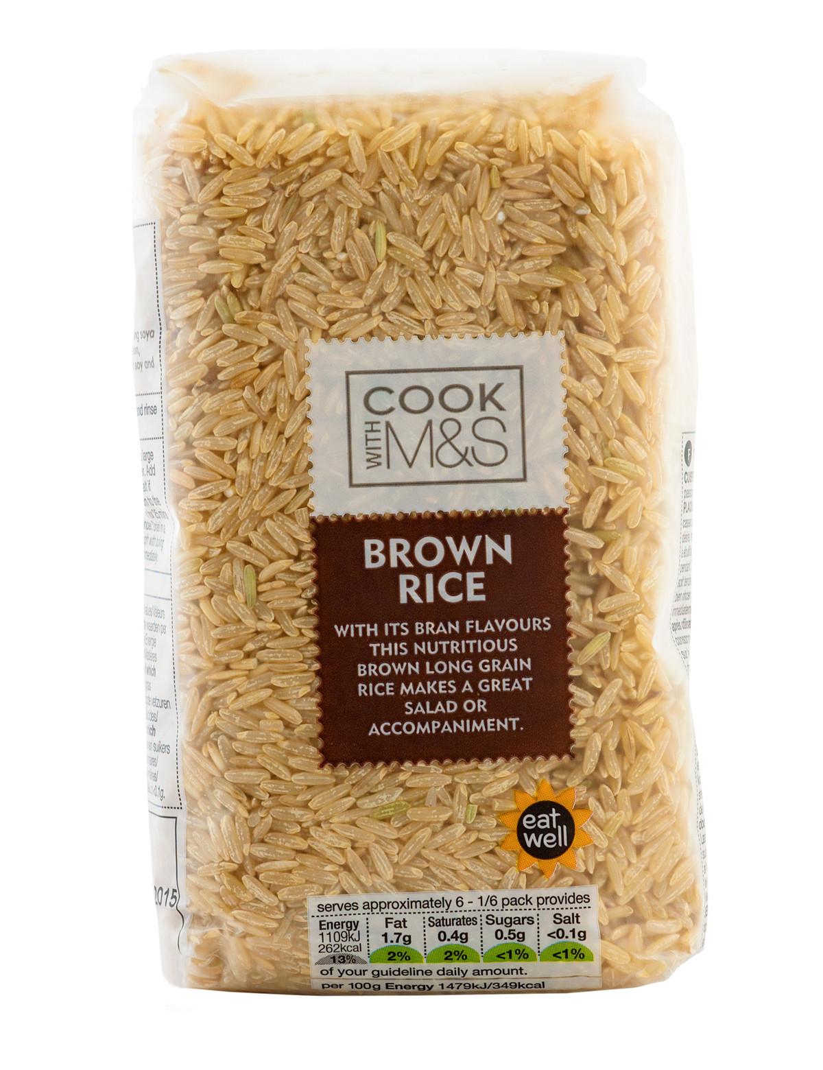 Long Grain Brown Rice  Long grain brown rice 500 gr