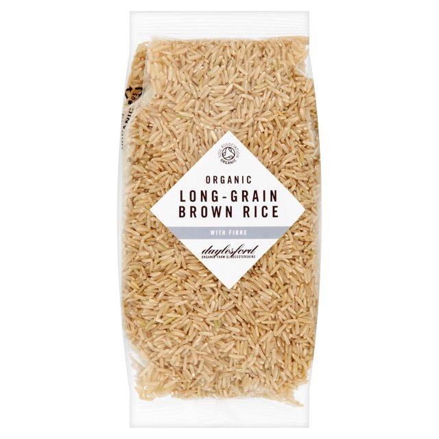 Long Grain Brown Rice  Daylesford Organic Long Grain Brown Rice 500g from Ocado