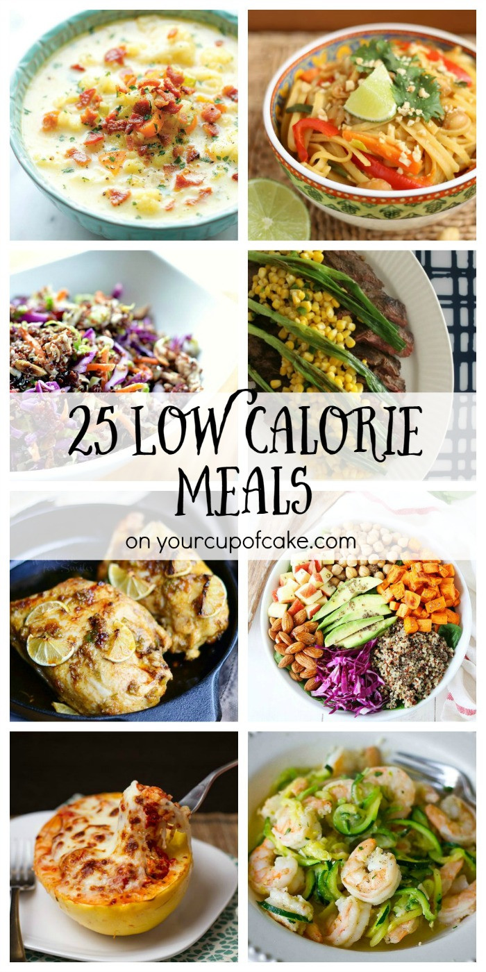 Low Cal Dinners  25 Low Cal Meals Your Cup of Cake